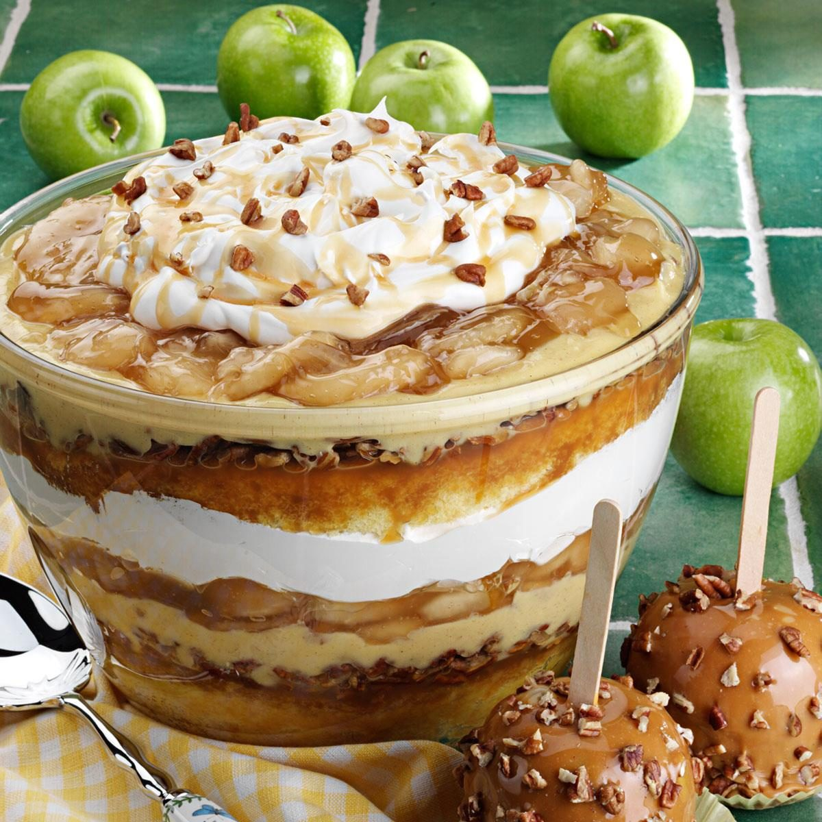 Apple Spice Cake Trifle