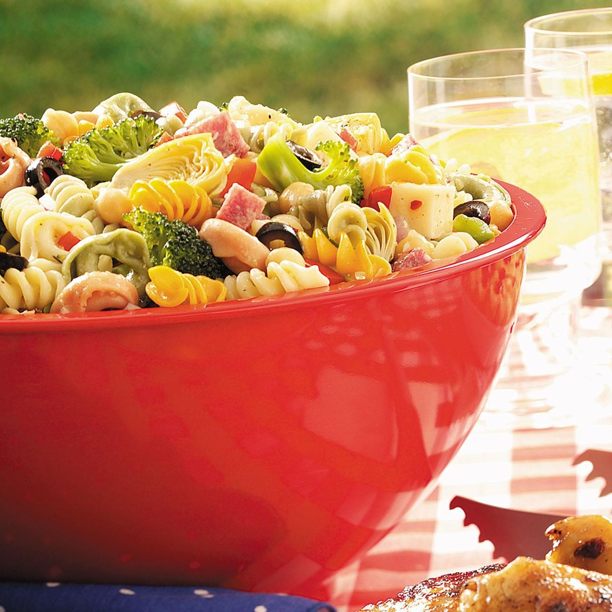 Easy Italian Desserts For A Crowd: Contest-Winning Picnic Pasta Salad Recipe