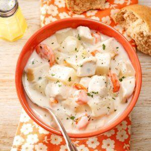Cream Cheese Chicken Soup