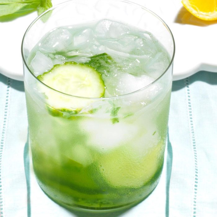 Cucumber Gin Smash