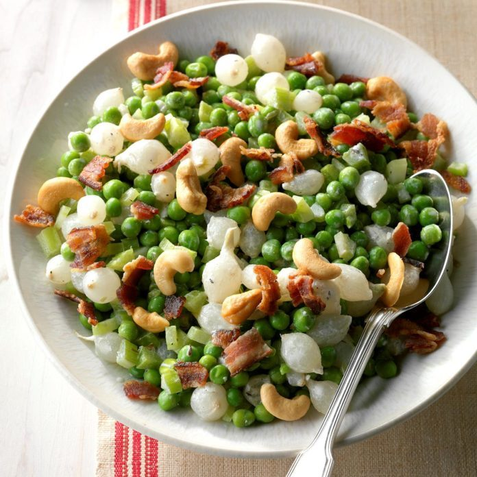 Dad's Creamed Peas & Pearl Onions
