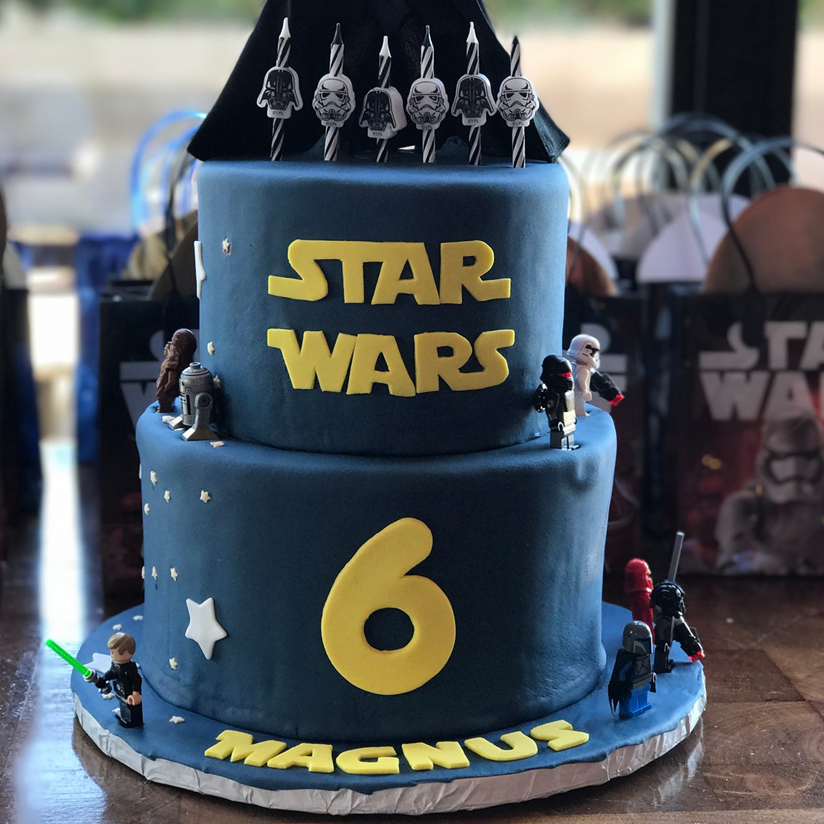Marvelous 17 Star Wars Food Creations We Love Taste Of Home Funny Birthday Cards Online Eattedamsfinfo