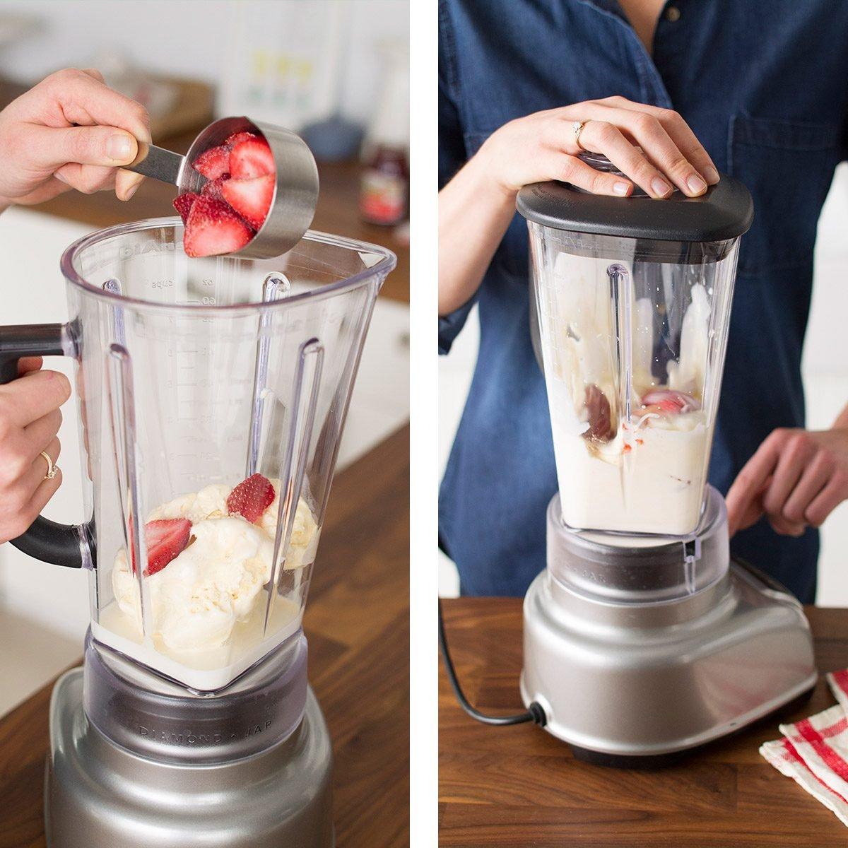 Learn how to make a milkshake