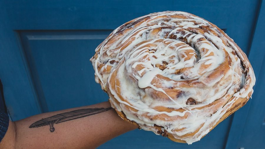 You Can Now Have A 5 Pound Cinnamon Roll Delivered To Your