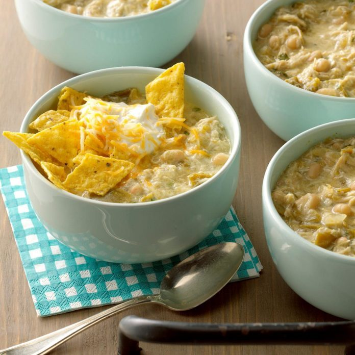 Colorado: Green Chile Chicken Chili