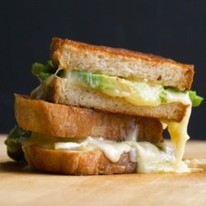Grilled Cheese and Avocado Sandwich