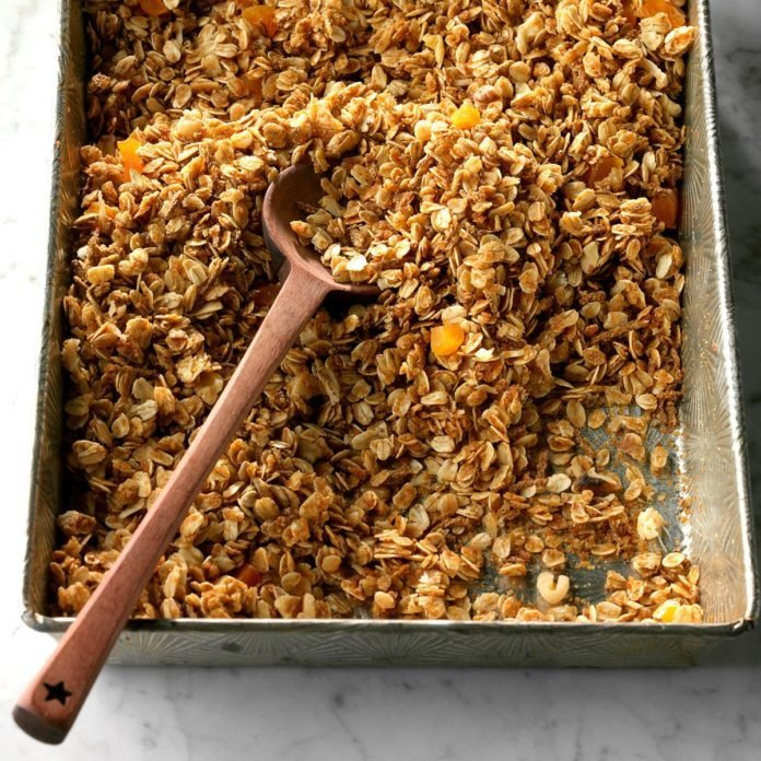Honey-Nut Coconut Granola