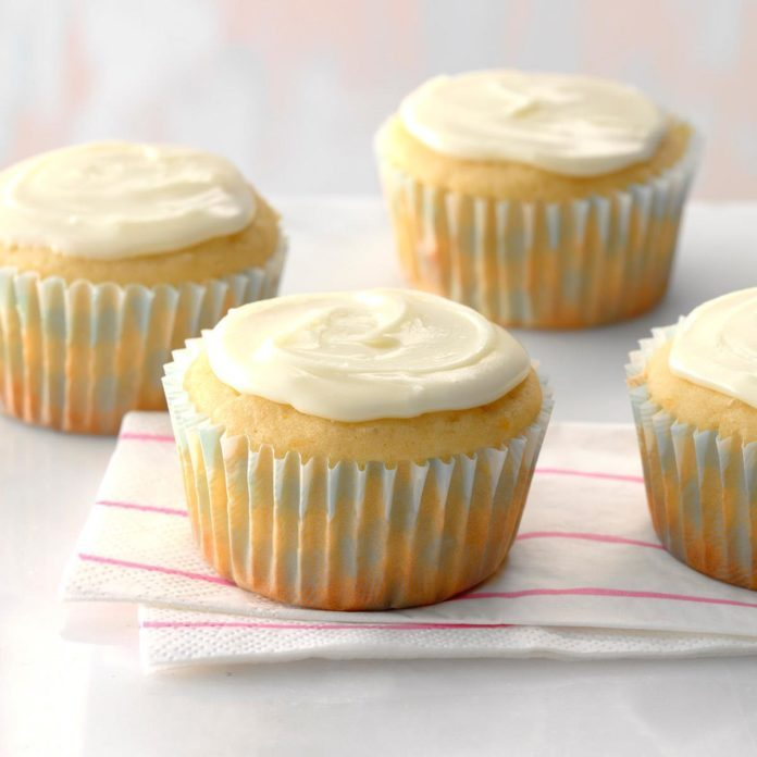 Orange Buttermilk Cupcakes