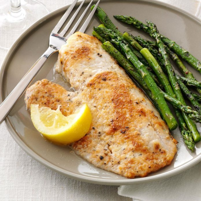Inspired by: Parmesan-Crusted Fresh Tilapia