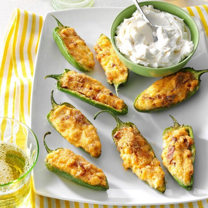Air-Fryer Pepper Poppers