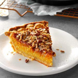 Persimmon Squash Pie