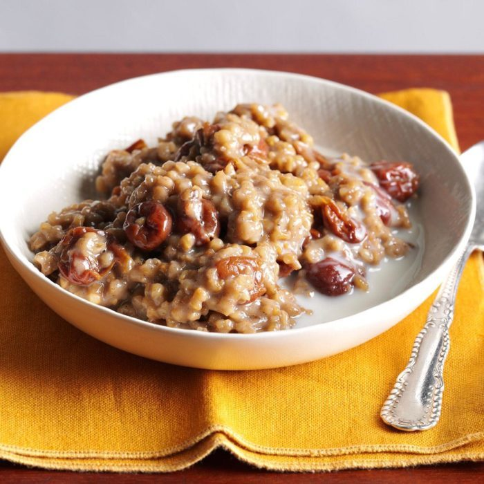 Cherry Almond Oatmeal Recipe