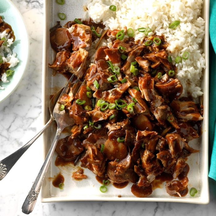 Pressure Cooker Chinese-Style Ribs