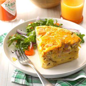 Pressure Cooker Denver Omelet Frittata