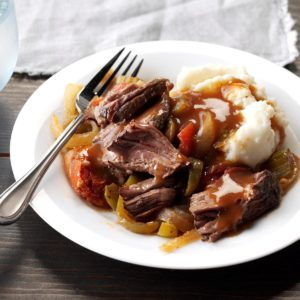 Pressure-Cooker Melt-in-Your-Mouth Chuck Roast