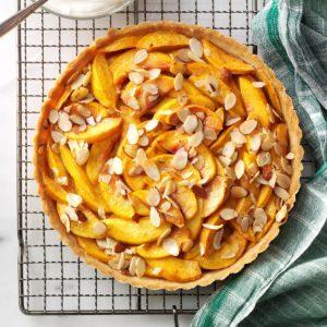 Pretty Peach Tart