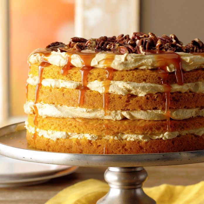 Ohio: Pumpkin Torte