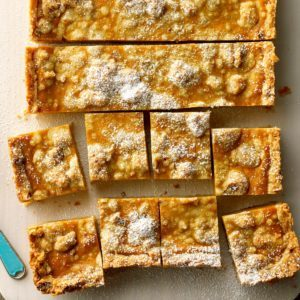 Pumpkin and Walnut Squares