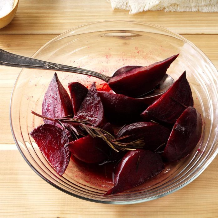 Roasted Beet Wedges