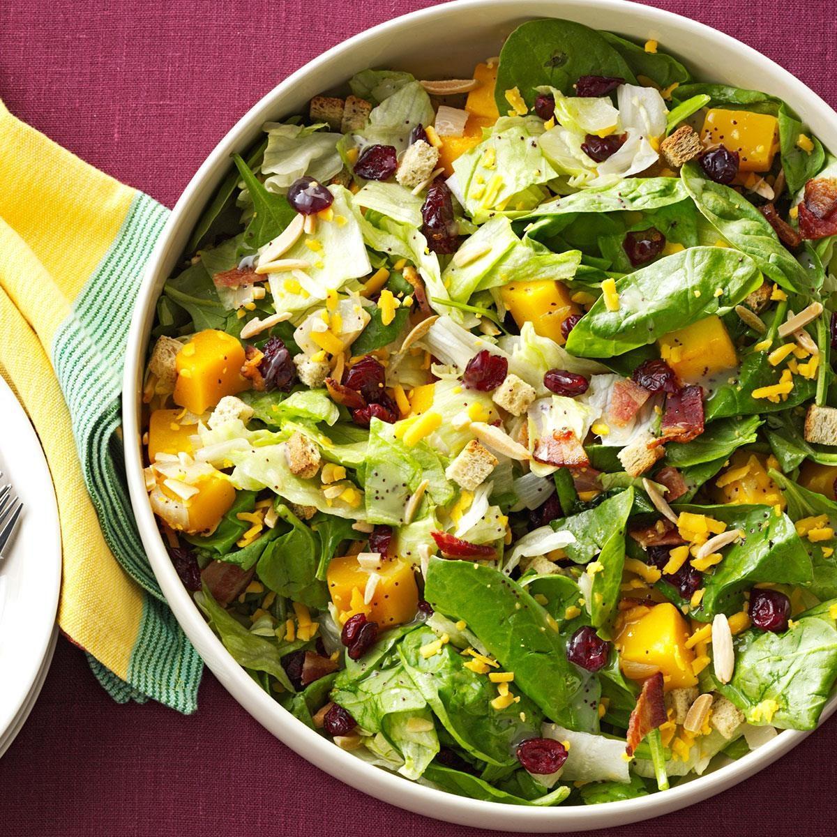 Roasted Butternut Tossed Salad Recipe Taste Of Home