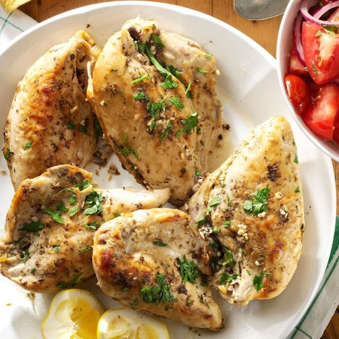 Slow-Cooked Lemon Chicken