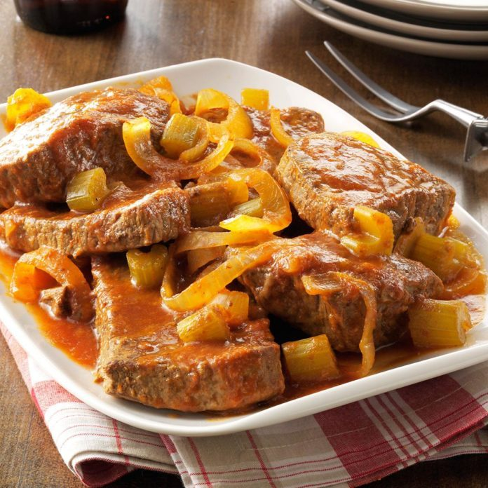 Day 19: Slow-Cooked Swiss Steak