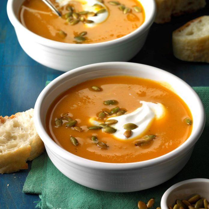 Day 15: Slow Cooker Sweet Potato Soup