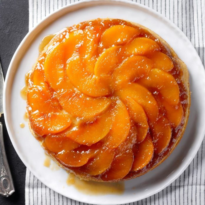 Southern Peach Upside Down Cake