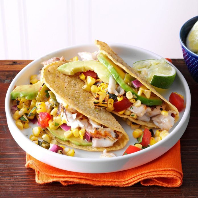 Day 16: Summer Garden Fish Tacos