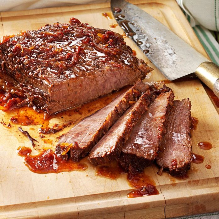 March: Sweet and Savory Brisket