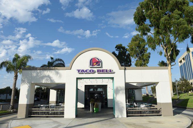 Taco Bell restaurant in Orange County