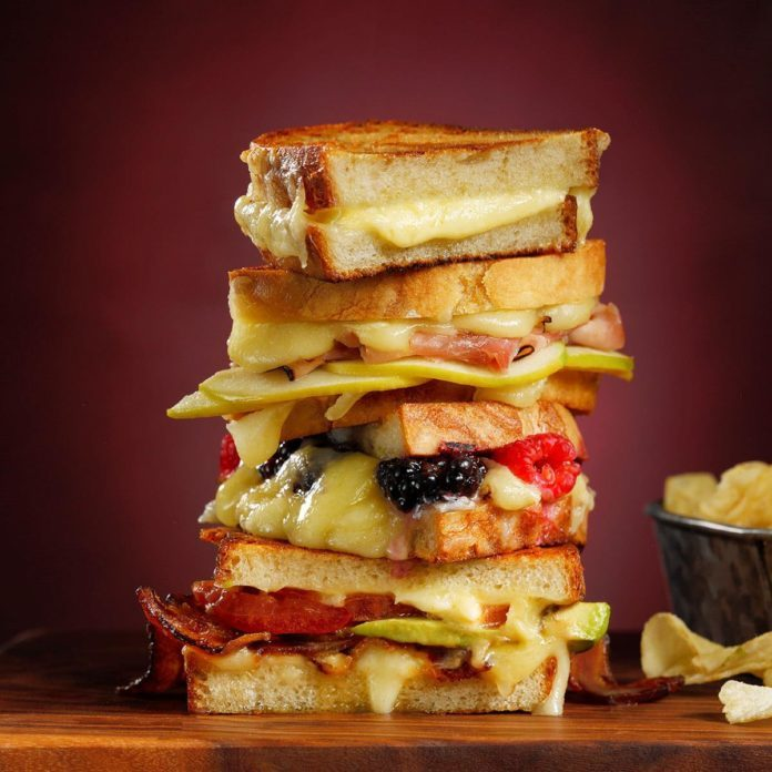 The Best Ever Grilled Cheese Sandwich