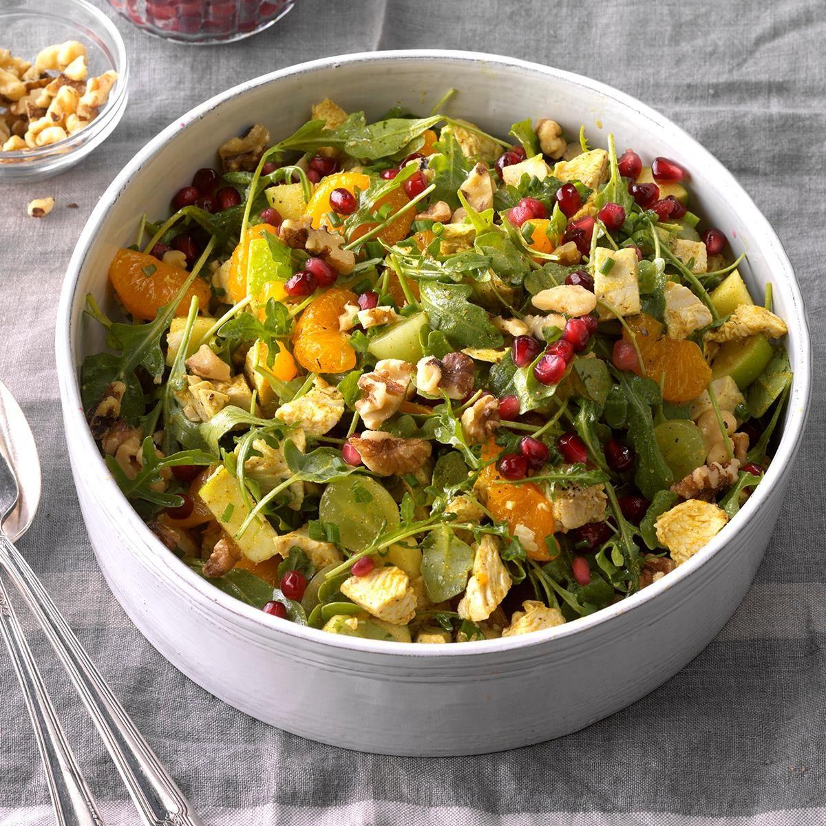 Turkey and Apple Arugula Salad