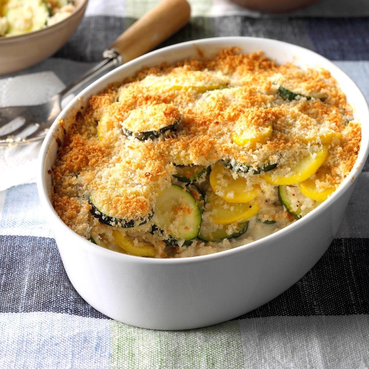 Yellow Squash And Zucchini Gratin Recipe