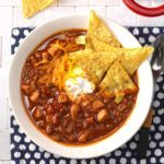 Zippy Pork Chili