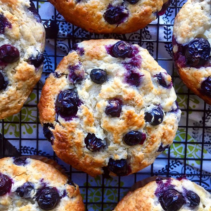 instagram, blueberry muffins