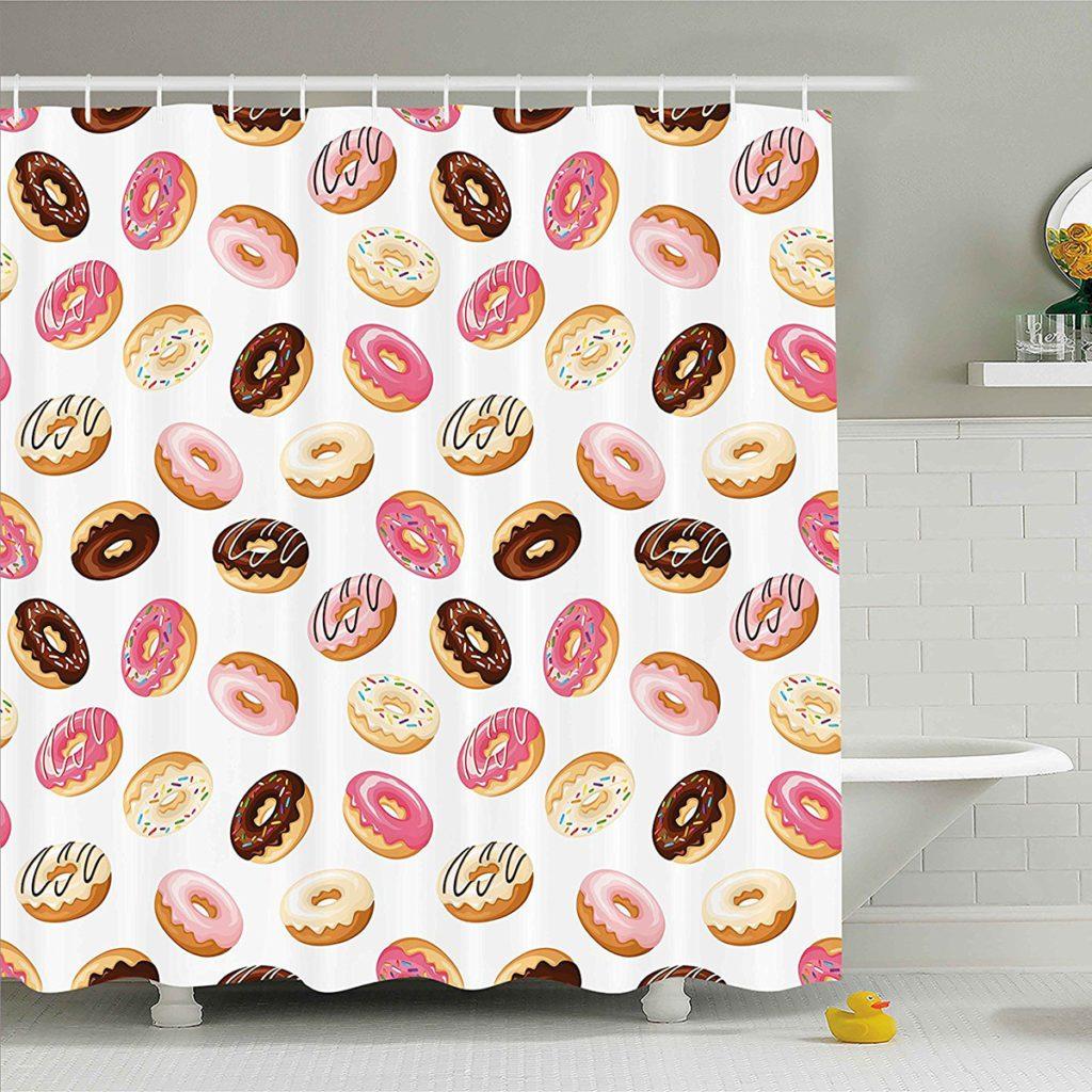 Donut Shower Curtain