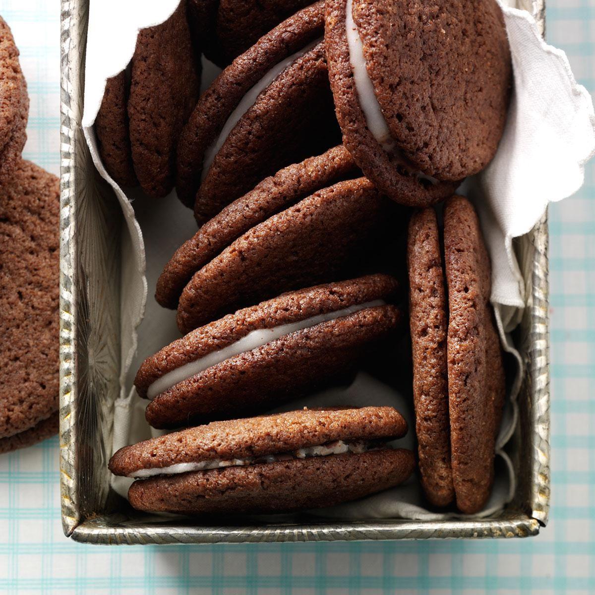 Contest-Winning Chocolate Mint Cookies