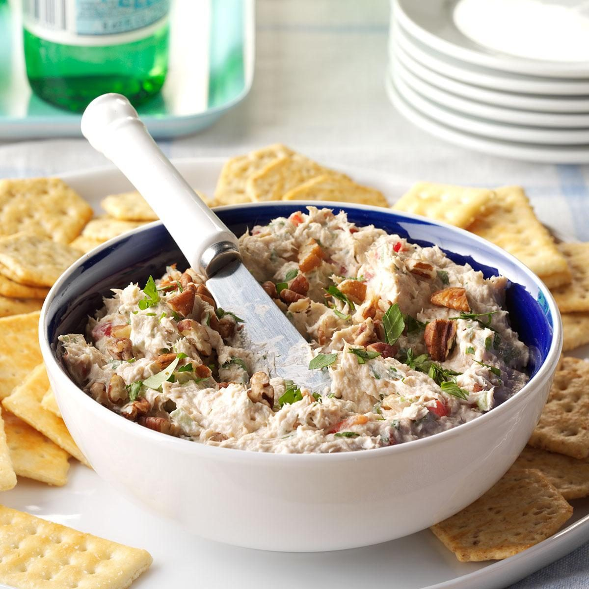 Party Food Spread For Kids: Salmon Party Spread Recipe