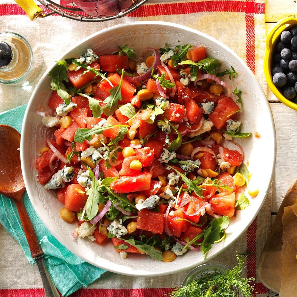 Juicy Watermelon Salad Recipe