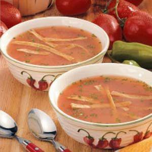 Southwestern Tomato Soup