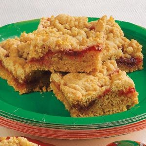 Contest-Winning Strawberry Jam Bars