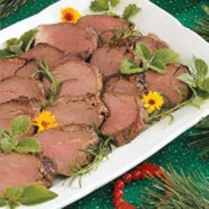 Marinated Beef Tenderloin