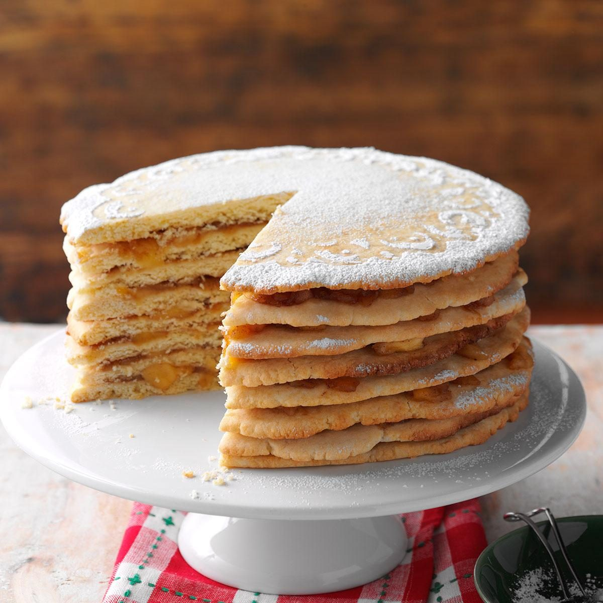 apple stack cake apple stack cake recipe taste of home 1350
