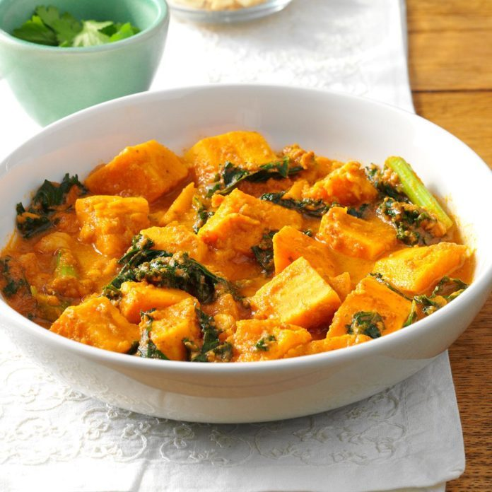 African Peanut Sweet Potato Stew