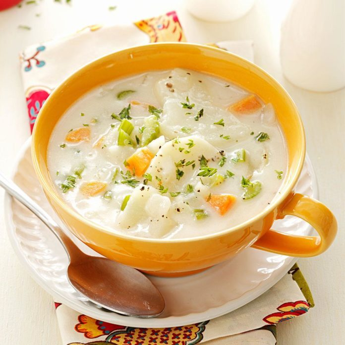 Hearty Potato Soup Recipe Taste Of Home