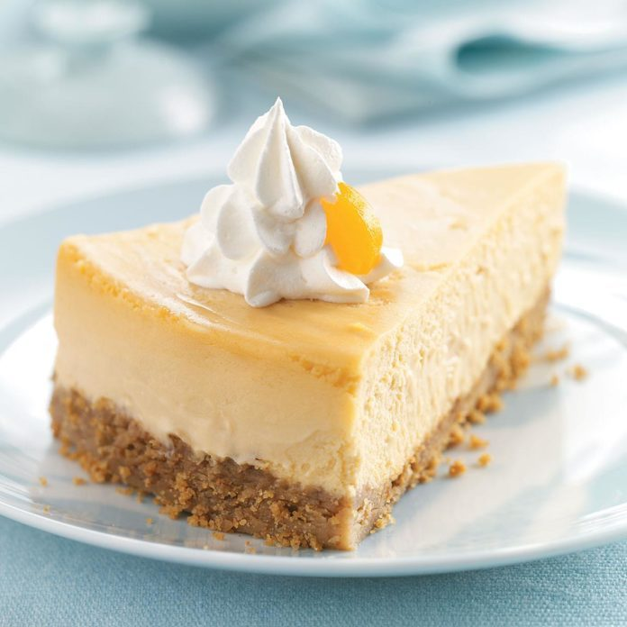 Aunt Ruth's Famous Butterscotch Cheesecake