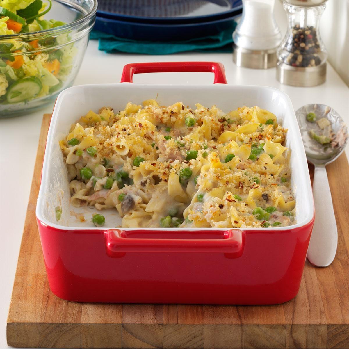Creamy Tuna Noodle Casserole Recipe Taste Of Home