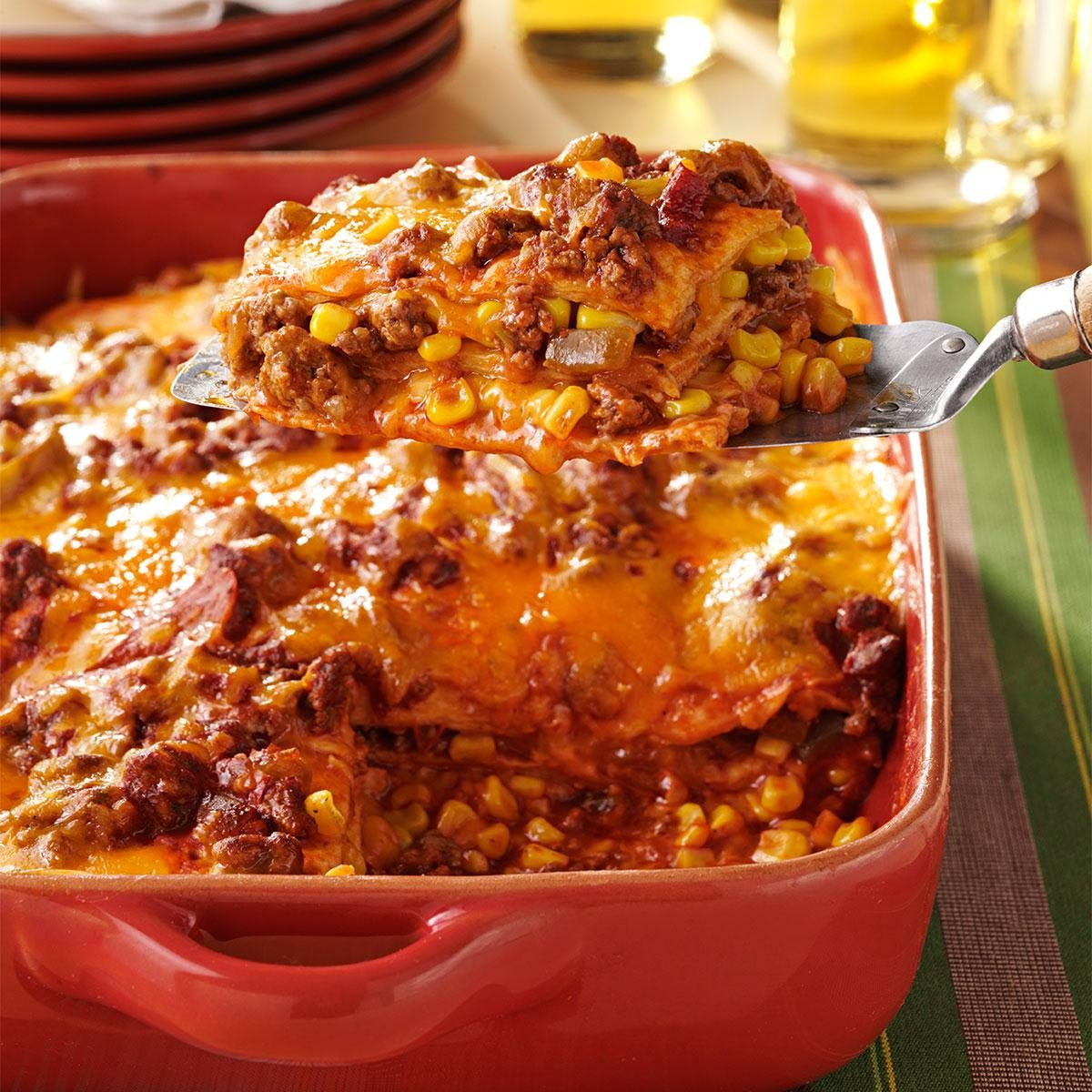 Enchilada Casserole Recipe | Taste of Home