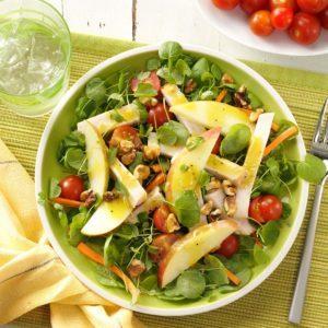 Smoked Turkey and Apple Salad
